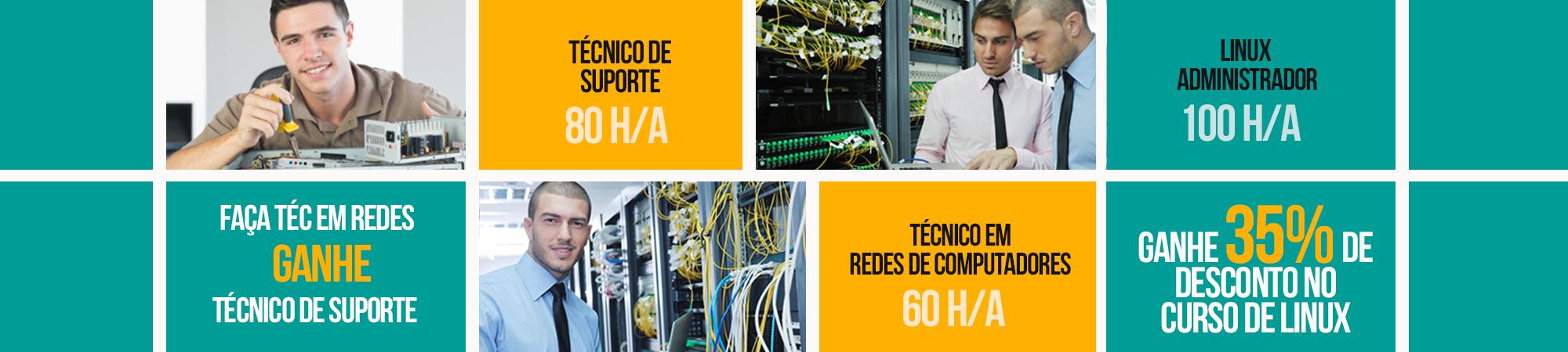 curso técnico de suporte curso de técnico em curso de redes de computadores curso de linux administrador de redes
