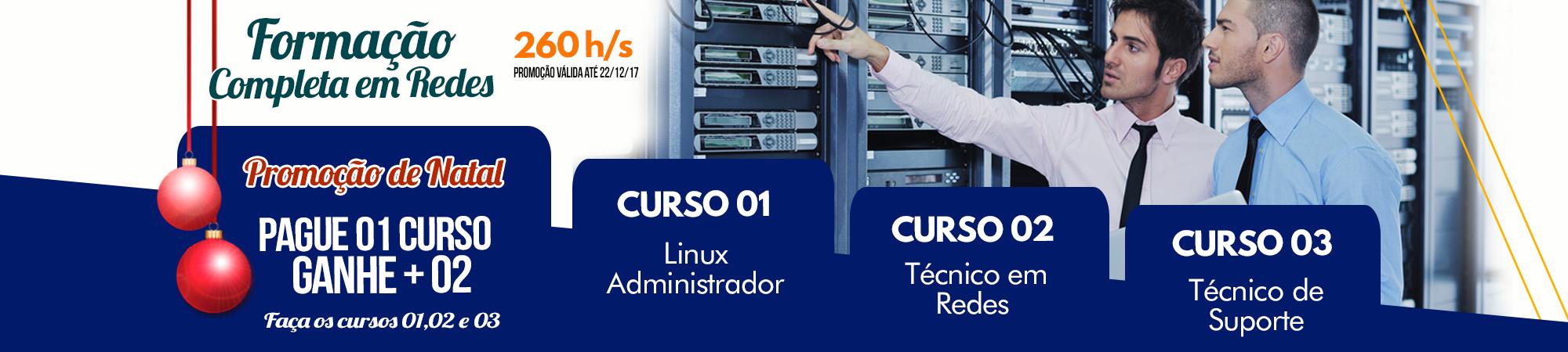curso técnico em redes curso técnico de suporte curso Linux Adm